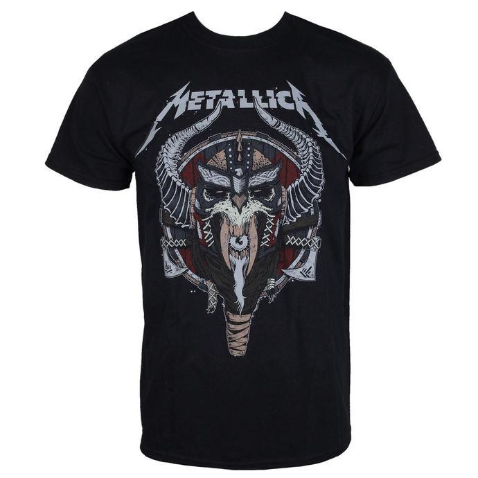 tričko pánské Metallica - Viking - Black