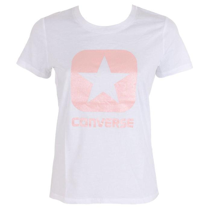 tričko dámské CONVERSE - Metallic Boxstar
