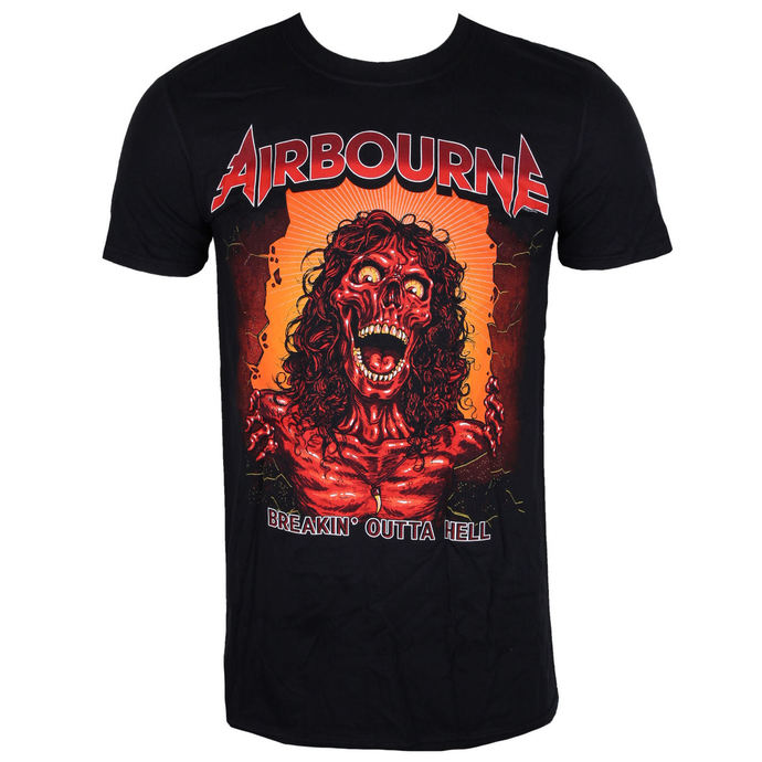tričko pánské AIRBOURNE - BOH SKELETON T - BLACK