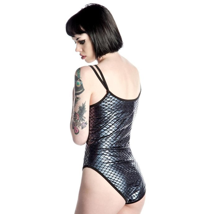 body dámské KILLSTAR - Drucilla Lost Lagoon - Black