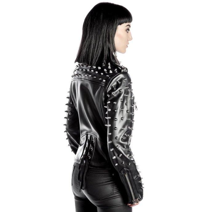 bunda dámská (křivák) KILLSTAR - Billie - Black