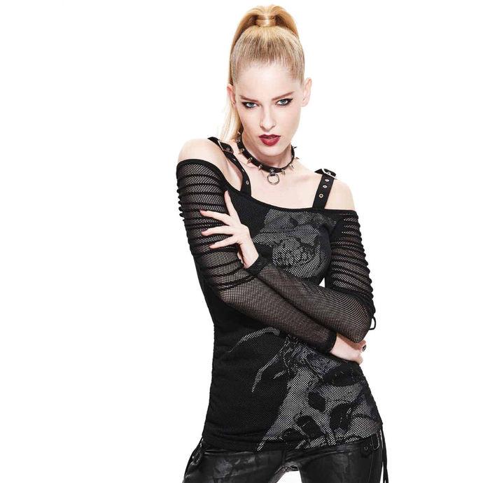 tričko dámské s dlouhým rukávem Devil Fashion - Kraven