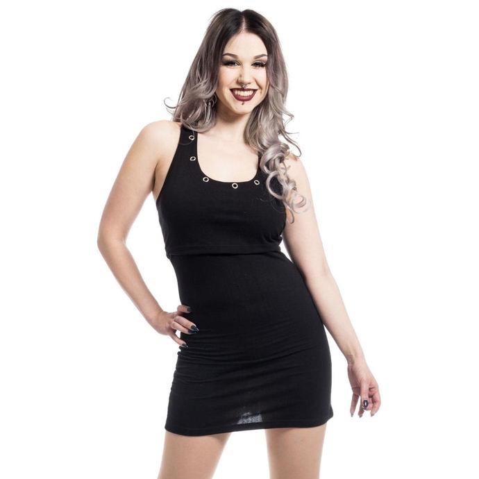 šaty dámské HEARTLESS - KIARA - BLACK