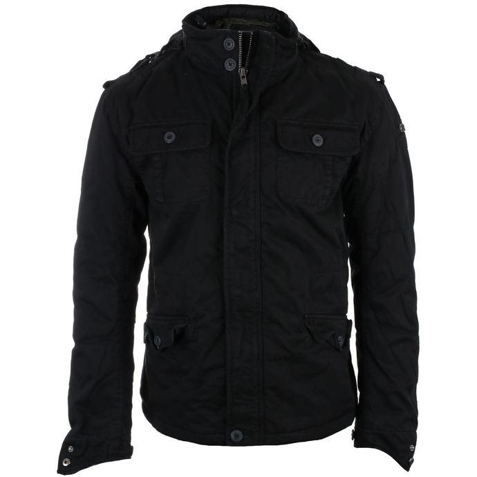 bunda pánská zimní BRANDIT - Britannia - Black