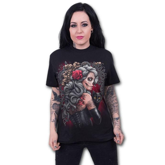 tričko pánské SPIRAL - DEAD TATTOO - Black
