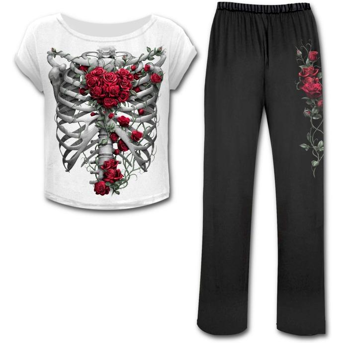 pyžamo dámské SPIRAL - ROSE BONES