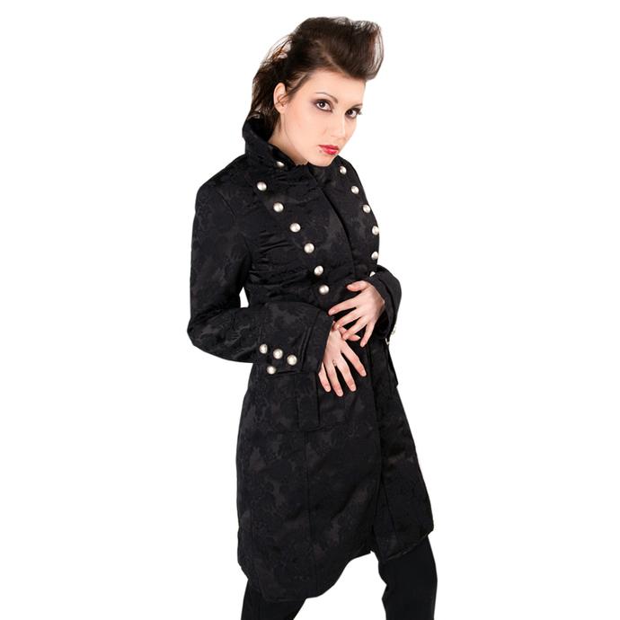 kabát dámský Aderlass - Ladys Corsair Coat Brocade Black