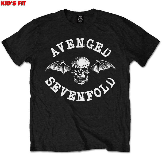 tričko dětské Avenged Sevenfold - Classic Deathbat - ROCK OFF