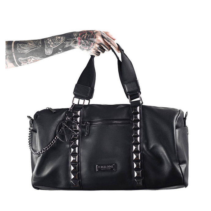 taška (kabelka) KILLSTAR - Backstage Dufebag - BLACK