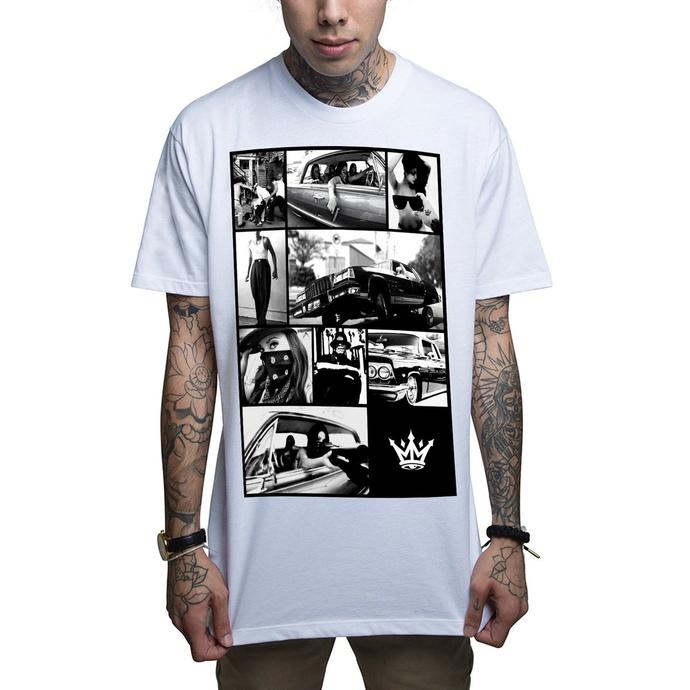 tričko pánské MAFIOSO - Barrio - White