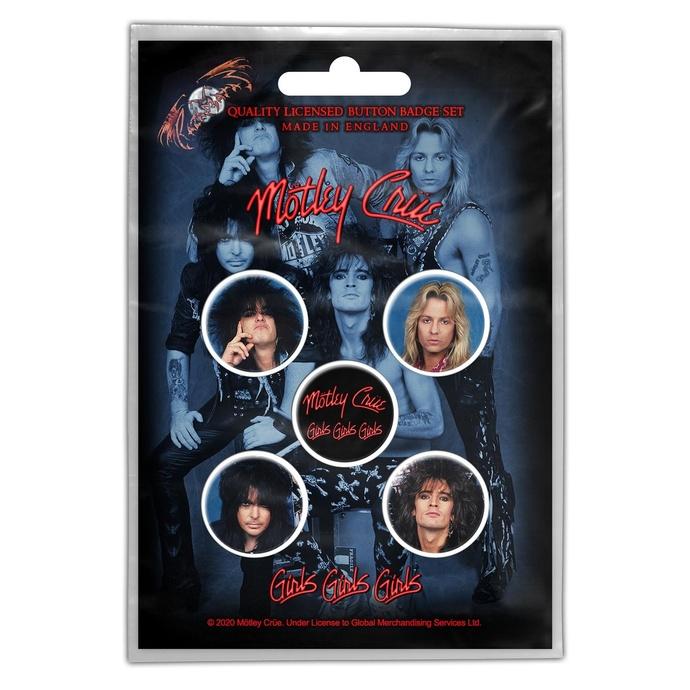 placky Mötley Crüe - Girls, Girls, Girls - RAZAMATAZ