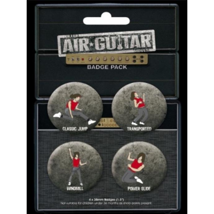 placky AIR GUITAR - BP0088