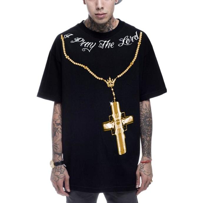 tričko pánské MAFIOSO - Confessions 2 Gold - BLK