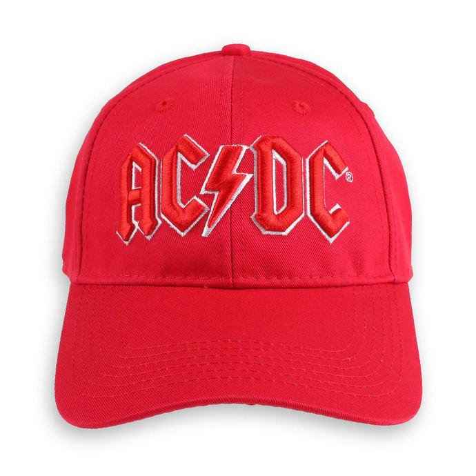 kšiltovka AC/DC - Red Logo - ROCK OFF