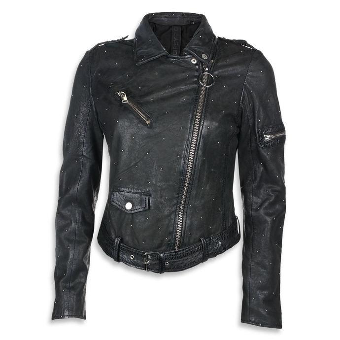 bunda dámská (křivák) Different - Black