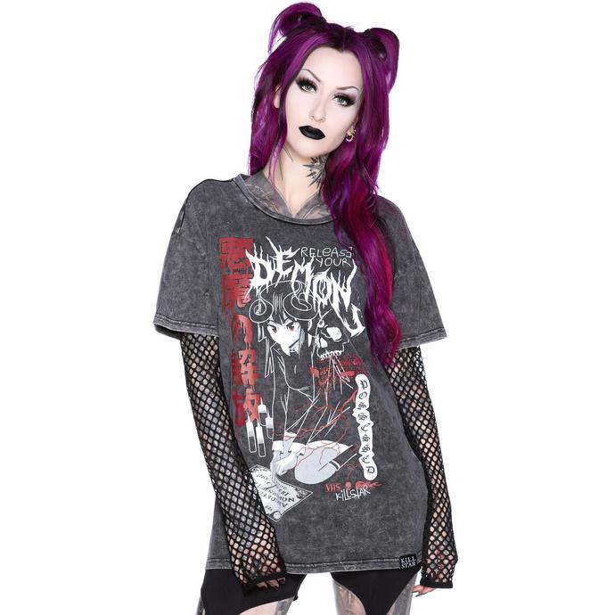 tričko dámské s dlouhým rukávem KILLSTAR - Dark Arts Relaxed