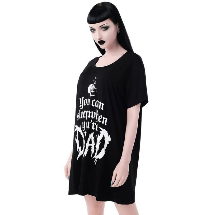 tričko dámské (pyžamo) KILLSTAR - Dead Sleepy - BLACK
