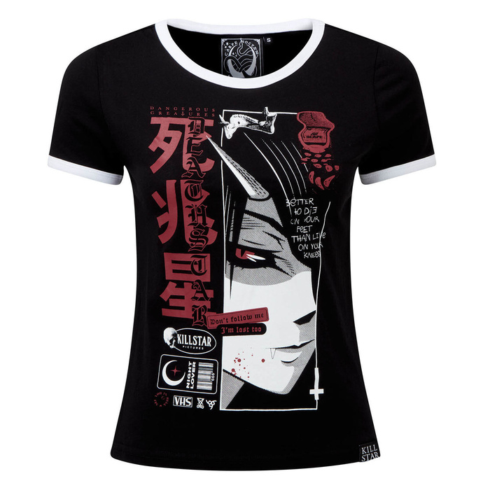 tričko dámské KILLSTAR - Deathstar Ringer