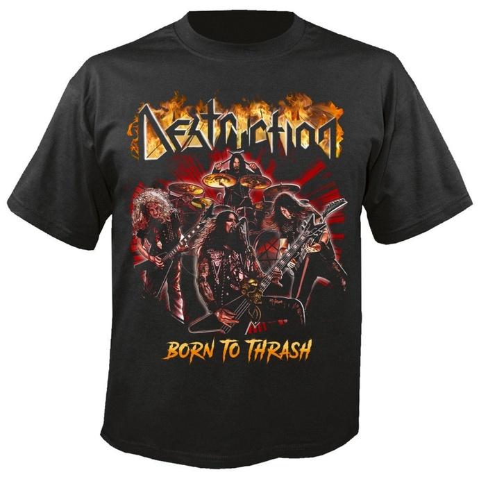 tričko pánské DESTRUCTION -  Born to thrash - NUCLEAR BLAST