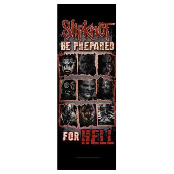 vlajka Slipknot - Be Prepared for Hell