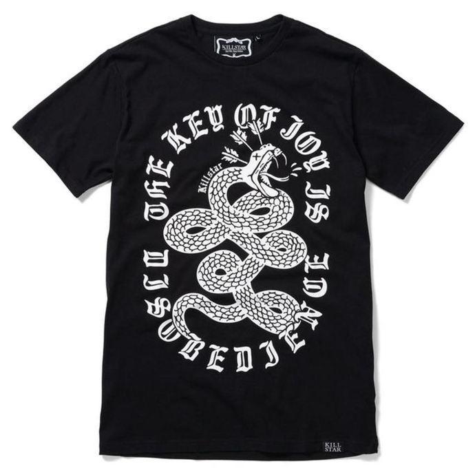 tričko (unisex) KILLSTAR - Disobedience - Black