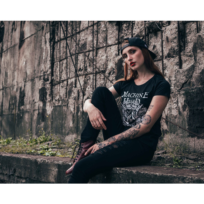 tričko dámské Machine Head - Bloodstone - Black