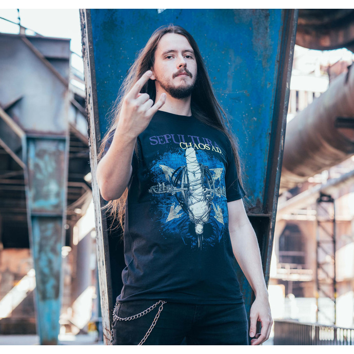 tričko pánské Sepultura - Chaos A.D. 30 Years - NUCLEAR BLAST