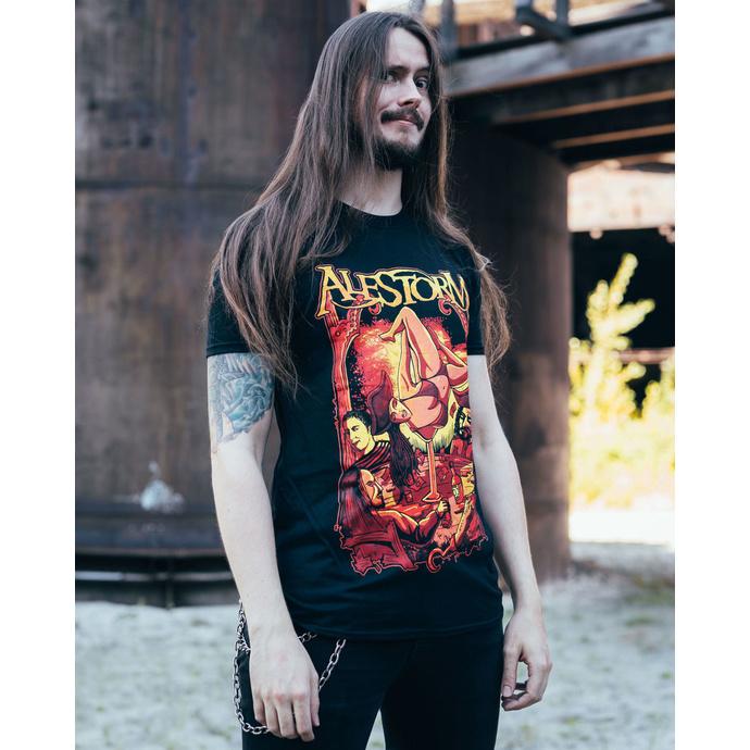 tričko pánské ALESTORM - SURRENDER THE BOOTY - PLASTIC HEAD