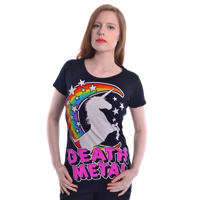 tričko dámské Cupcake Cult - DEATH METAL - BLACK