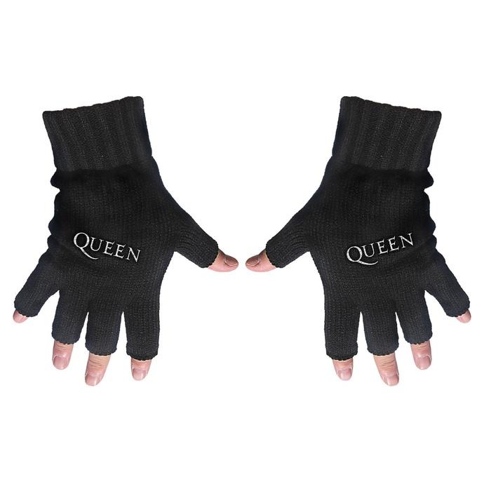 rukavice bezprsté Queen - Logo - RAZAMATAZ