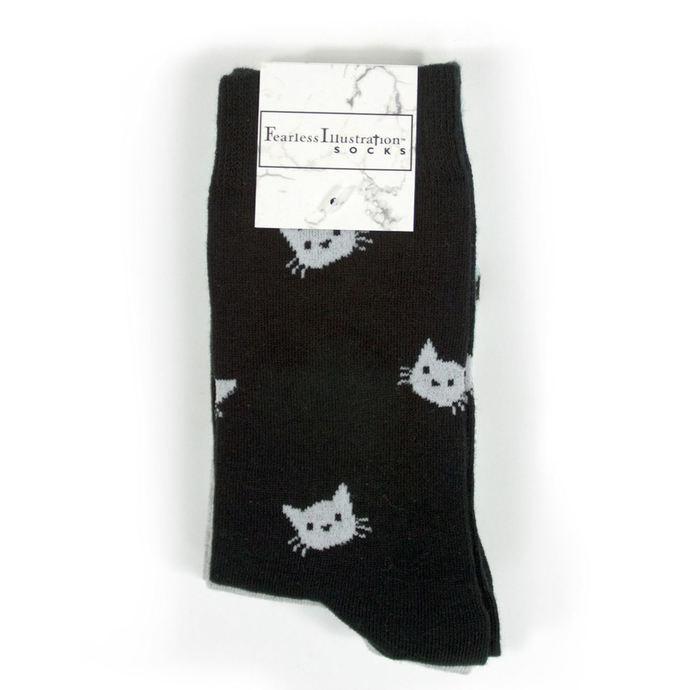 ponožky set (3páry) FEARLESS - WEIRD Girl