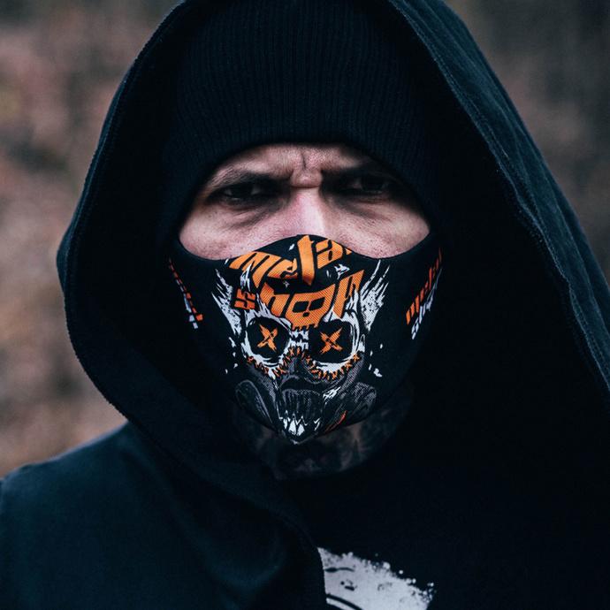 rouška (maska) Metalshop - Skull & Gas Mask