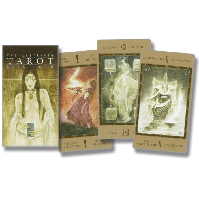 tarotové karty LUIS ROYO - Labyrinth Tarot