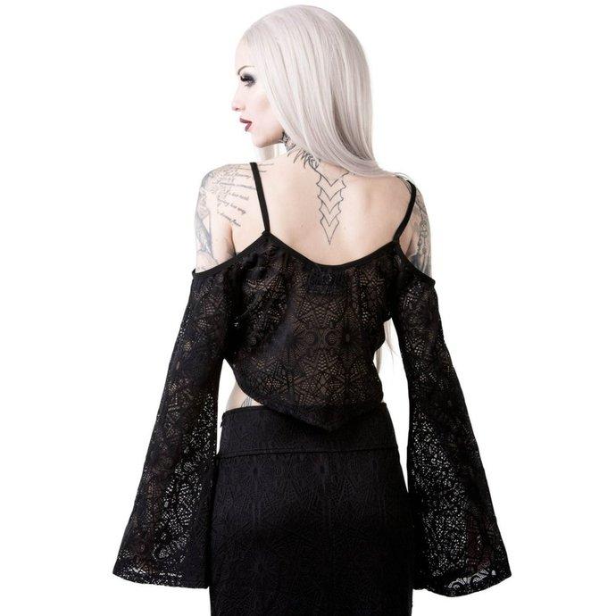 tričko dámské s dlouhým rukávem KILLSTAR - HADARA SPELL - BLACK