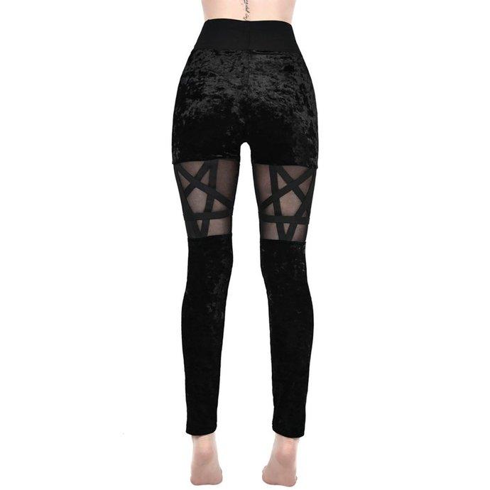 kalhoty dámské (legíny) KILLSTAR - HELLION - BLACK