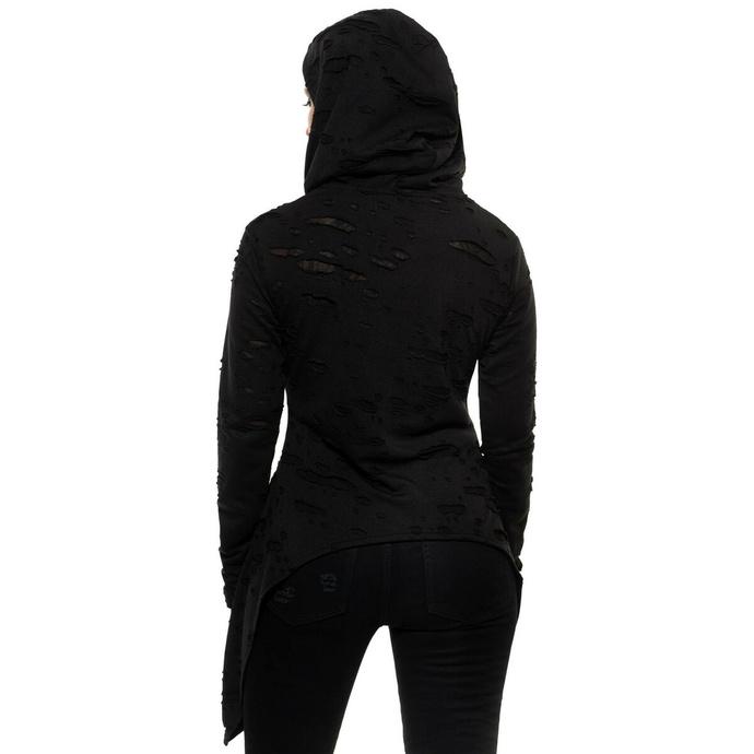 mikina dámská KILLSTAR - Hex Hooded - Black