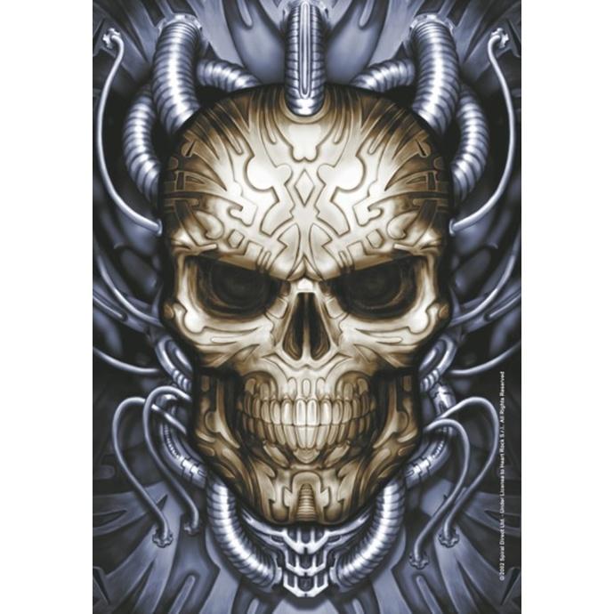 vlajka Spiral Collection - Plugged Skull