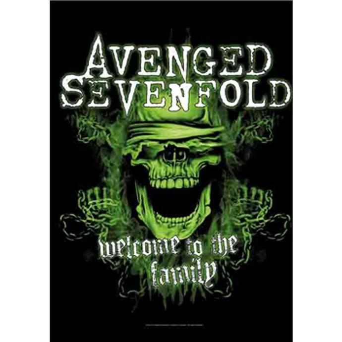 vlajka Avenged Sevenfold - Welcome to the Family