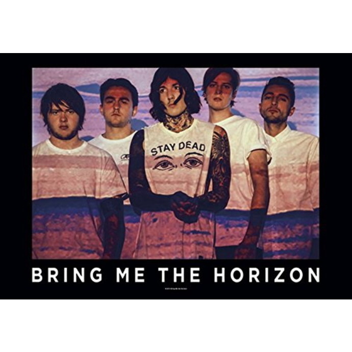 vlajka Bring Me the Horizon - Press Shot