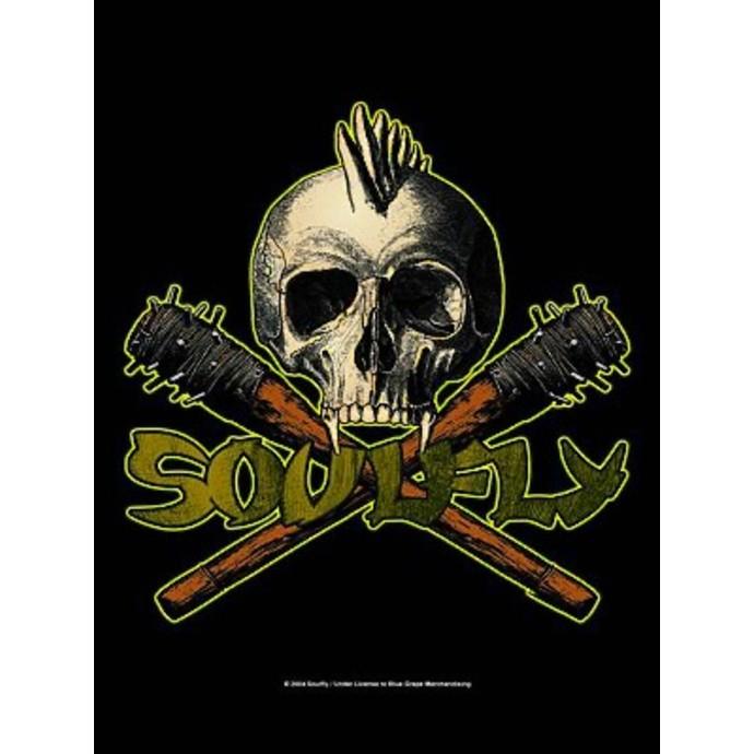 vlajka Soulfly - Skull