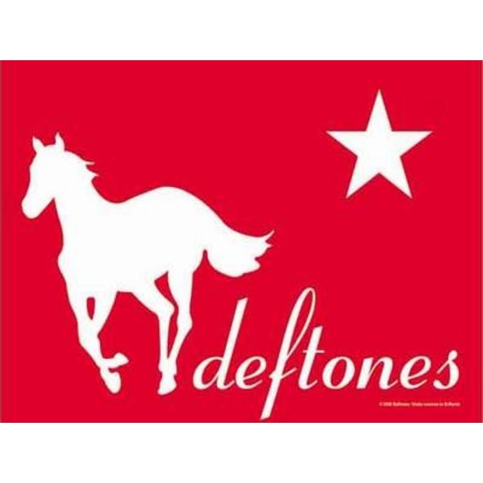 vlajka Deftones - Redpony