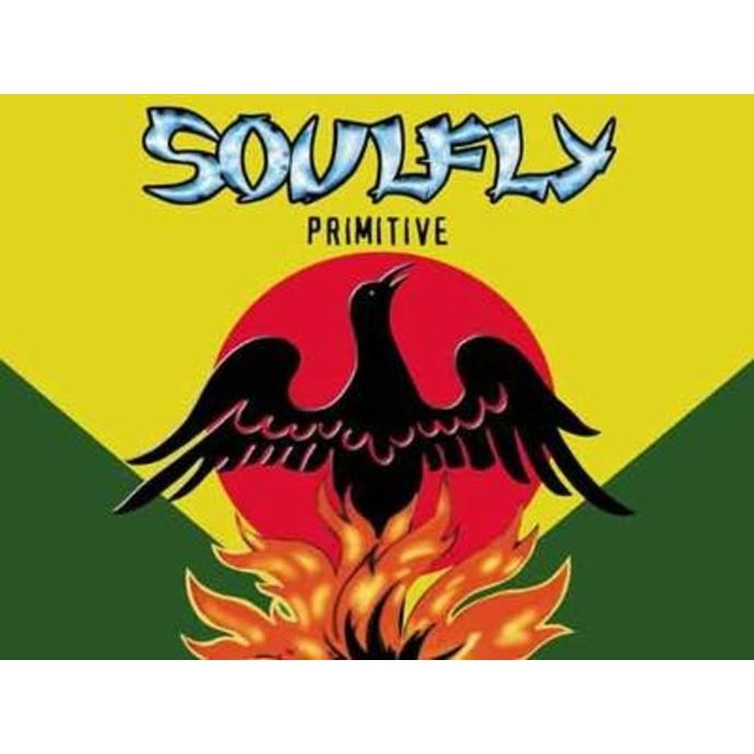 vlajka Soulfly - Primitive