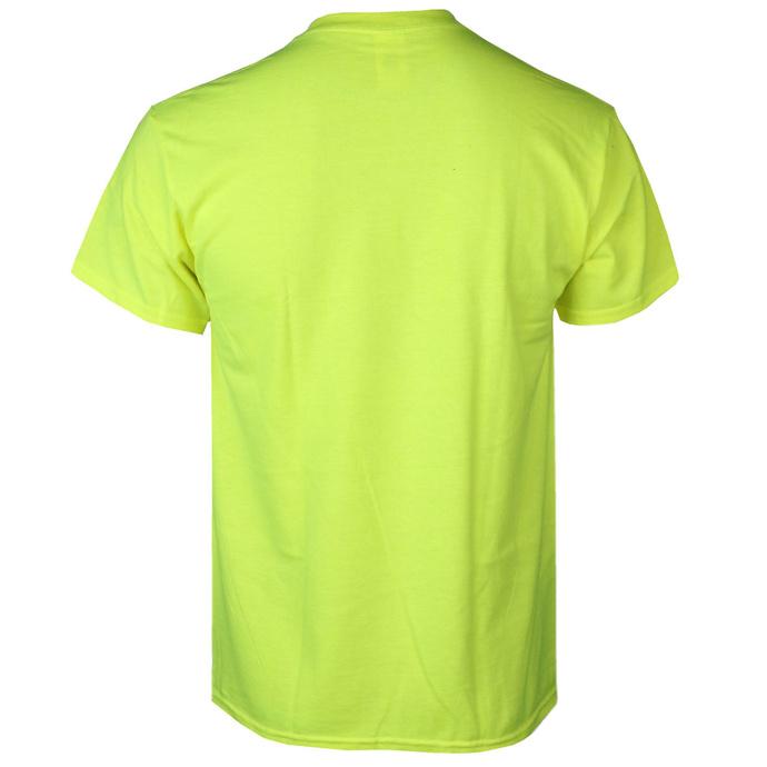 tričko pánské GUTALAX - toilet brushes - savety green - ROTTEN ROLL REX