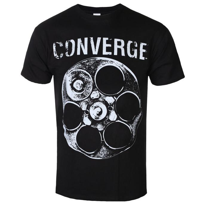 tričko pánské Converge - The Chamber Black - Black - KINGS ROAD