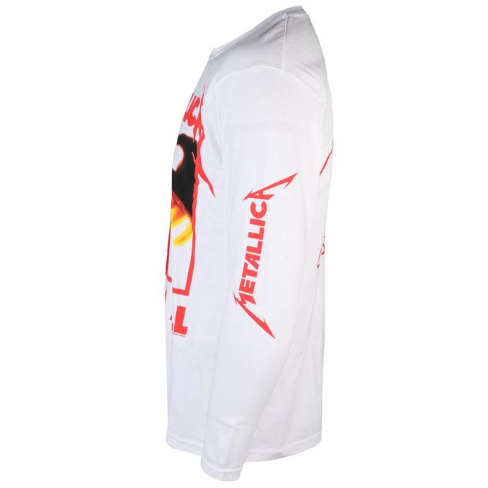 tričko pánské s dlouhým rukávem Metallica - Kill Em All - White