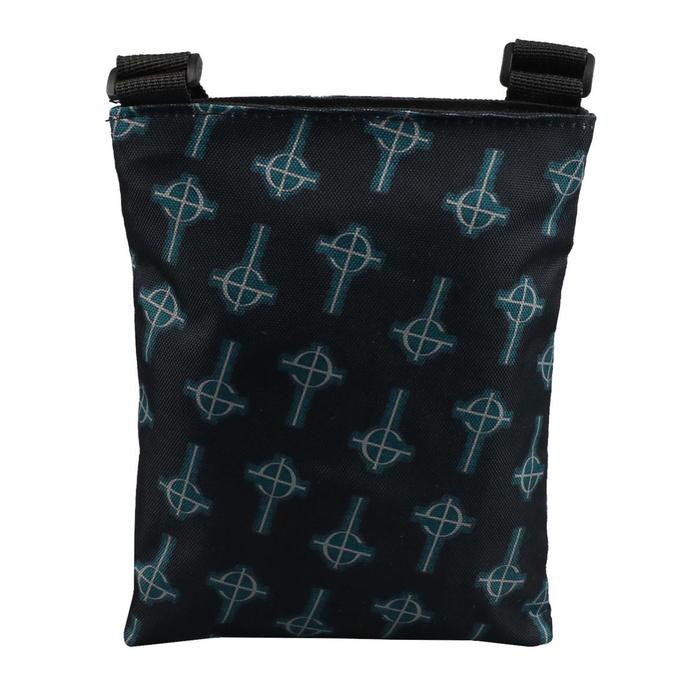 taška (crossbody) GHOST - CRUCIFIX - BLUE