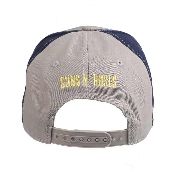 kšiltovka Guns N' Roses - Circle Logo GREY/NAVY - ROCK OFF