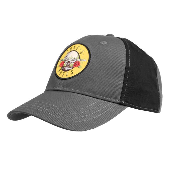 kšiltovka Guns N' Roses - Circle Logo - CHAR/BL - ROCK OFF