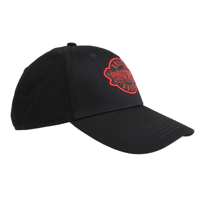kšiltovka Guns N' Roses - Red Circle Logo - ROCK OFF
