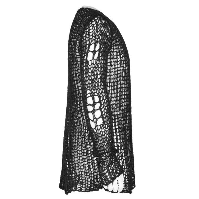 svetr pánský PUNK RAVE - Black Ruin